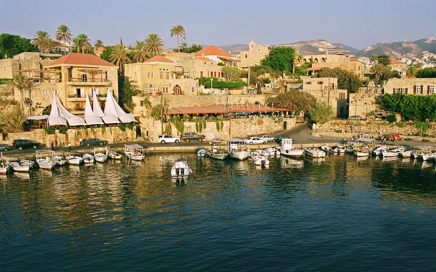 This is Jbeil-Byblos, it's best tourist attraction in Lebanon. Many restaurants there and boats. Cool shops!!