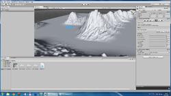 Cкриншот из программы Unity